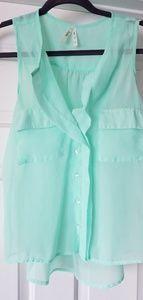 Sheer tank/blouse